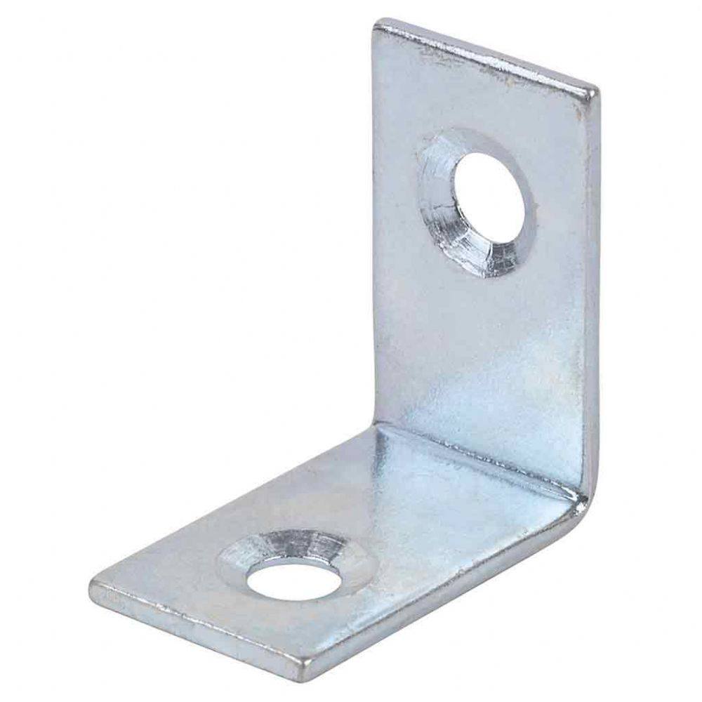 Right Angled Corner Bracket Zinc Plated 25mm.